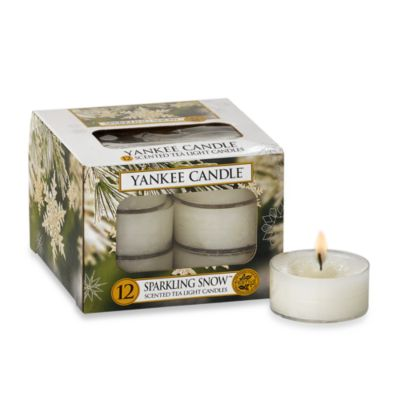 Yankee Candle® Sparkling Snow™ Tealights (Set of 12)