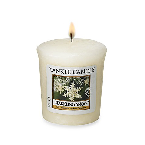 Yankee Candle® Sparkling Snow™ Sampler Votive Candle