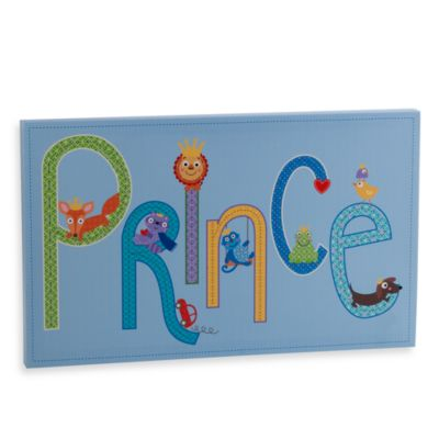 Two's Company Happi Prince Wall Art
