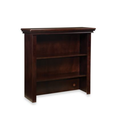 Westwood Design Waverly Cottage Hutch/Bookcase in Chocolate Mist