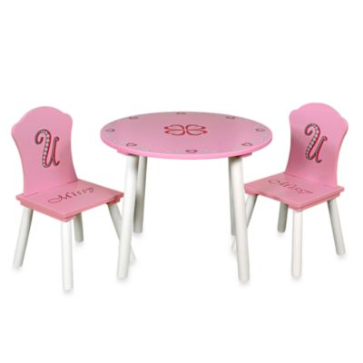 Missy Couture Table and Chairs Set