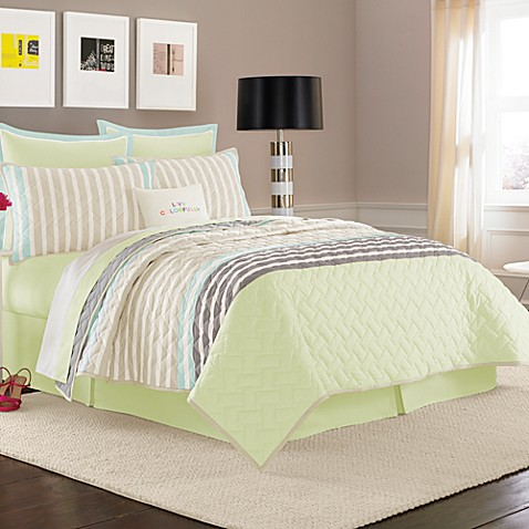 kate spade new york Spring Street Sweetwater Road Quilt, 100% Cotton