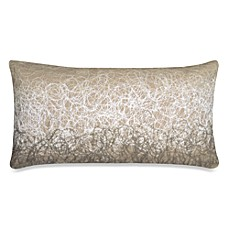 DKNY City Rhythm City Scribble Oblong Toss Pillow in Linen