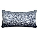 DKNY City Rhythm City Scribble Oblong Toss Pillow in Cobalt
