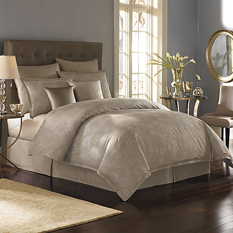 Nicole Miller® Metallic Circles King Bed Skirt