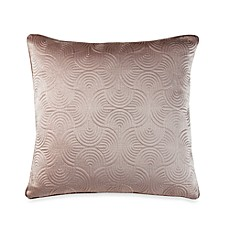 Nicole Miller® Metallic Circles 18-Inch Square Toss Pillow