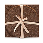 Thirstystone® 2-Piece Dark Cork Trivet Set