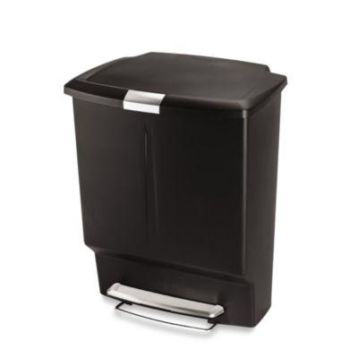 simplehuman® 60-Liter Rectangular Recycler
