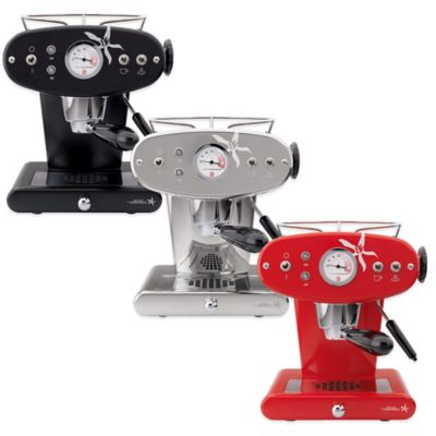 illy® Francis Francis! Model X1 iperEspresso Machine in Red