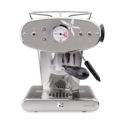 illy® Francis Francis! Model X1 iperEspresso Machine in Stainless Steel