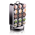 Mind Reader Vortex Coffee Pod Storage Carousel in Black (30 K-Cup® Capacity)