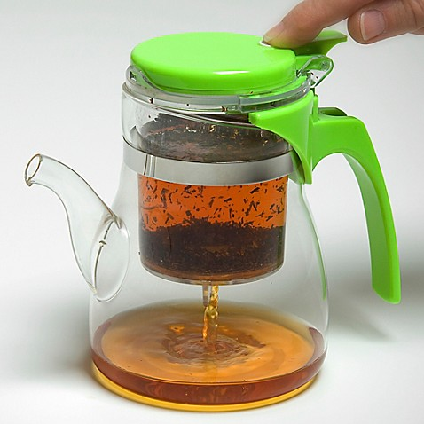 One-Touch Teapot in Green