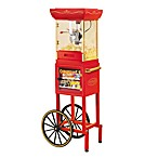Nostalgia Electrics™ Vintage Collection Old Fashioned Popcorn Cart with Concession Stand