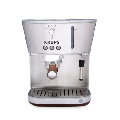 Krups® Silver Art Collection Espresso Machine with Precise Tamp