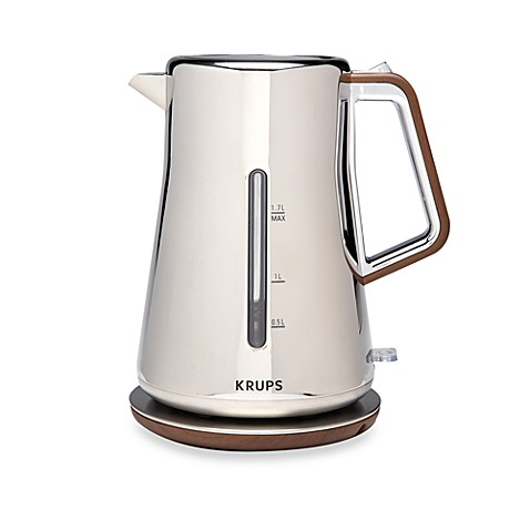 Krups® Silver Art Collection Electric Kettle