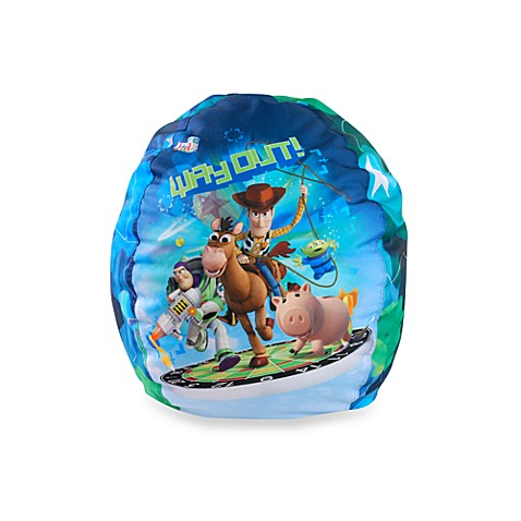 Junior Toy Story - Way Out Bean Bag Cover and Bag of Beans Bean Bag Fill