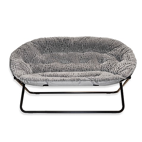 Idea Nova Double Saucer Chair in Grey