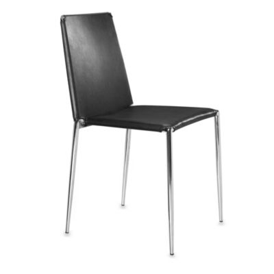 Zuo Alex Dining Chairs in Black (Set of 4)