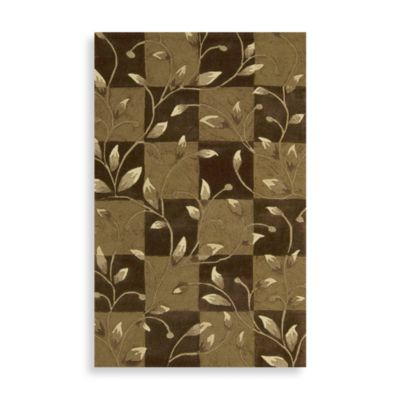 Nourison Contours 8-Foot x 10-Foot 6-Inch Vine Rug in Brown