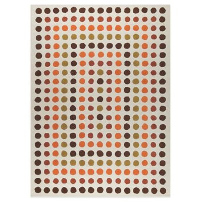 MAT Dublin 3-Foot x 5-Foot 4-Inch Accent Rug in Rust