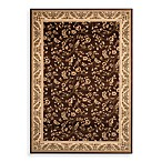 World Rug Gallery Elite Floral Rug in Brown