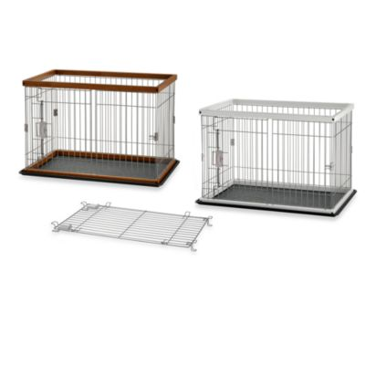 Richell 2-Way Door Pet Pens with Floor Tray
