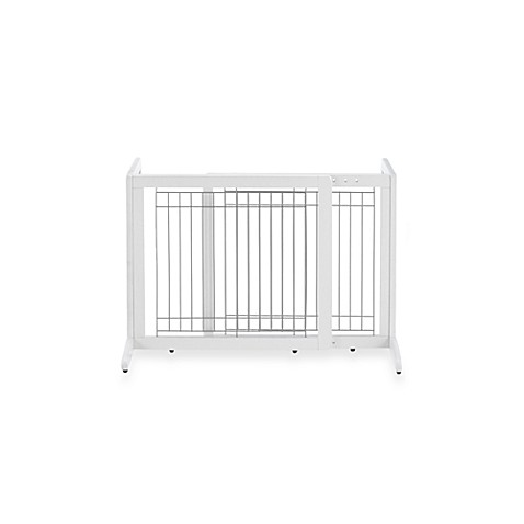 Richell Freestanding Origami Pet Gates in White