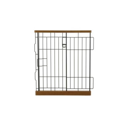 Richell Expandable Matte Medium Pet Pen Divider in Autumn