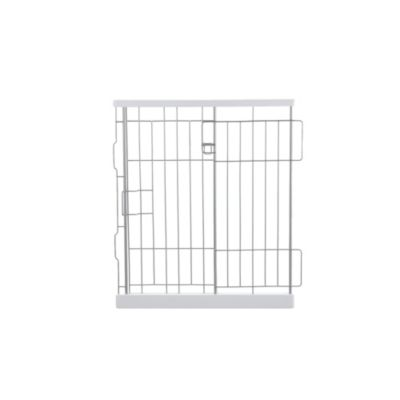 Richell Expandable Origami Medium Pet Pen Divider in White