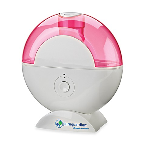 Guardian Technologies™ Table Top Ultrasonic Humidifier in Pink