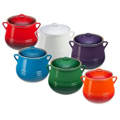 Le Creuset® Heritage 4.5-Quart Bean Pot in Cassis