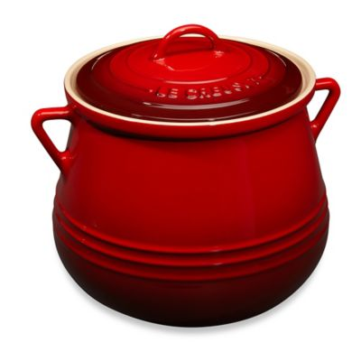 Le Creuset® Heritage 4.5-Quart Bean Pot in Cherry