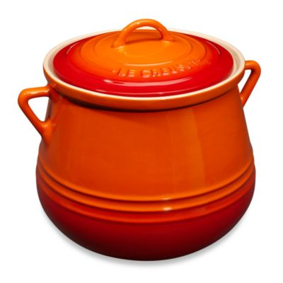 Le Creuset® Heritage 4.5-Quart Bean Pot in Flame