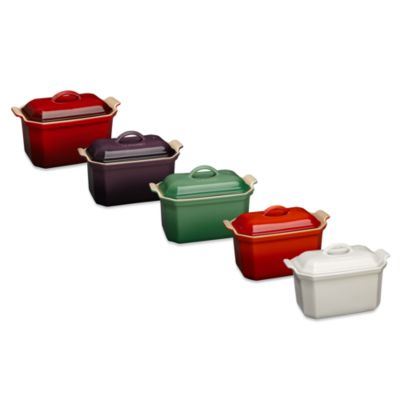 Le Creuset® Heritage Pate Terrine with Press in Cherry