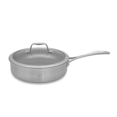 Zwilling J.A. Henckels Spirit 3-Quart Ceramic Coated Nonstick Covered Saute Pan