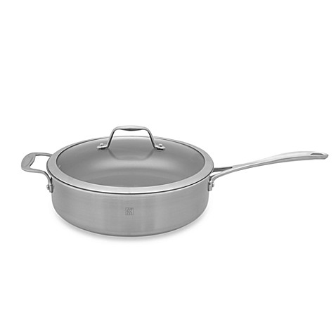 Zwilling J.A. Henckels Spirit 5-Quart Ceramic Coated Nonstick Covered Saute Pan