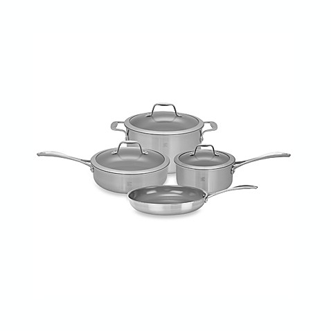 Zwilling J.A. Henckels Spirit Ceramic Coated Nonstick 7-Piece Cookware Set and Open Stock