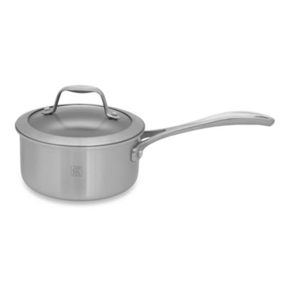 Zwilling J.A. Henckels Spirit 1-Quart Ceramic Coated Nonstick Covered Saucepan