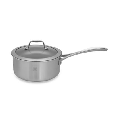 Zwilling J.A. Henckels Spirit 2-Quart Ceramic Coated Nonstick Covered Saucepan