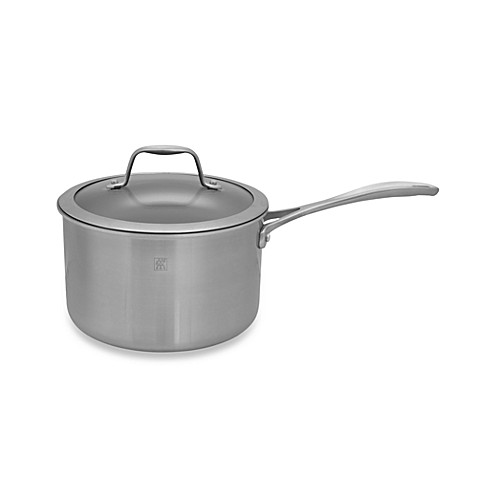 Zwilling J.A. Henckels Spirit 4-Quart Ceramic Coated Nonstick Covered Saucepan