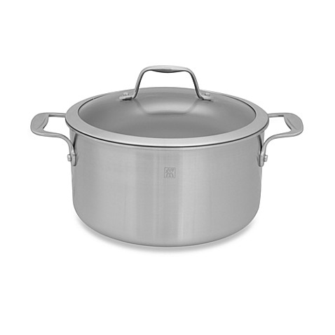 Zwilling J.A. Henckels Spirit 6-Quart Ceramic Coated Nonstick Covered Stock Pot