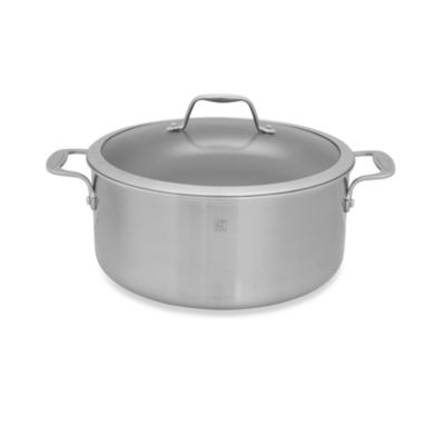 Zwilling J.A. Henckels Spirit 8-Quart Ceramic Coated Nonstick Covered Stock Pot