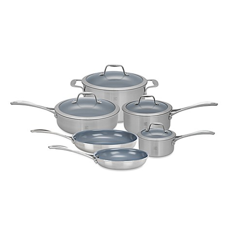 Zwilling J.A. Henckels Spirit 10-Piece Thermolon™ Coated Cookware Set