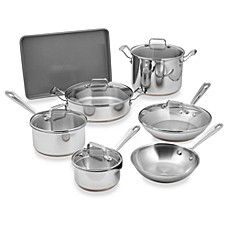Emerilware Stainless Steel 12-Piece Cookware Set and Open Stock