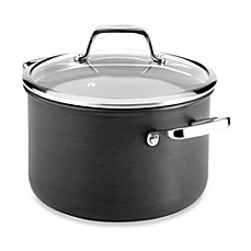 All-Clad B3 Hard Anodized Bonded Induction Aluminum 4-Quart Covered Soup Pot