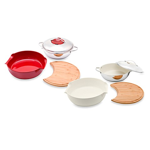Twiztt™ by Joan Lunden 10-Inch Cut, Cook and Serve 4-Piece Sets