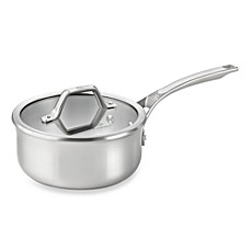 Calphalon® AccuCore™ Stainless Steel 2.5-Quart Covered Sauce Pan