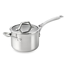 Calphalon® AccuCore™ Stainless Steel 3-Quart Covered Sauce Pan