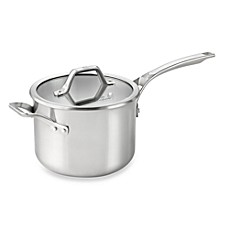 Calphalon® AccuCore™ Stainless Steel 4-Quart Covered Sauce Pan