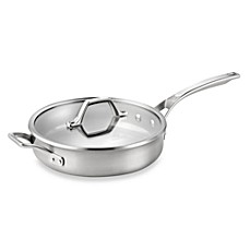 Calphalon® AccuCore™ Stainless Steel 3-Quart Covered Saute Pan